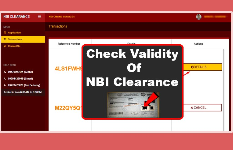 NBI Clearance Validity